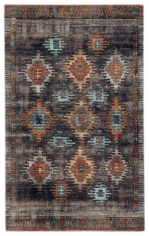 Jaipur Living Polaris Dez Pol18 Blue - Orange Area Rug