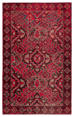 Jaipur Living Polaris Chaya Pol21 Red - Black Area Rug