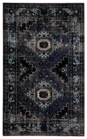 Jaipur Living Polaris Westlyn Pol24 Black - Blue Area Rug