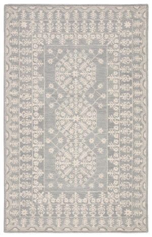 Jaipur Living Province Linde Pro01 Gray - White Area Rug