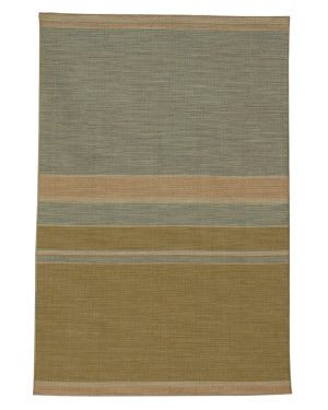 Rugstudio Sample Sale 53542R Apple Green/Sea Blue Area Rug