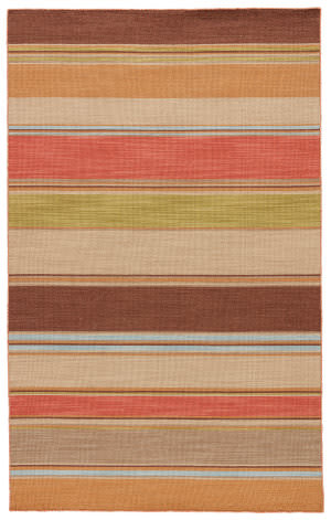 Rugstudio Sample Sale 75000R Poppy / Lemon Area Rug