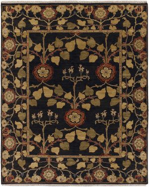 Jaipur Living Opus Tree of Life OP12 Deep Charcoal Area Rug