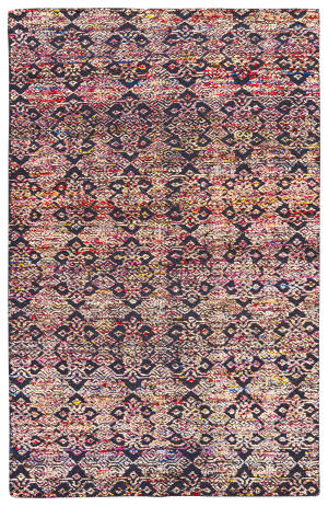 Jaipur Living Reign Celine Rei03 India Ink - Tango Red Area Rug