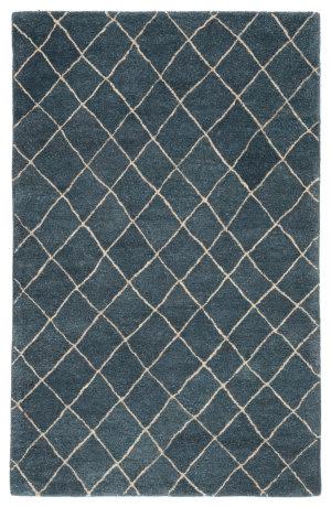 Jaipur Living Riad Gem Ria02 Blue Ashes - Oyster Gray Area Rug
