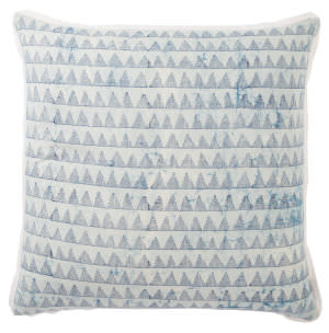 Jaipur Living Revolve Pillow Yonah Rov02 Blue - White