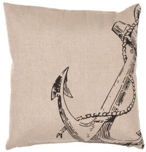 Jaipur Living Rustique Pillow Anchor Pillow Rue08 Marzipan