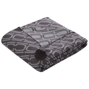 Jaipur Living Sublime By Nikki Chu Throw Nki16 Sbk02 Dark Slate