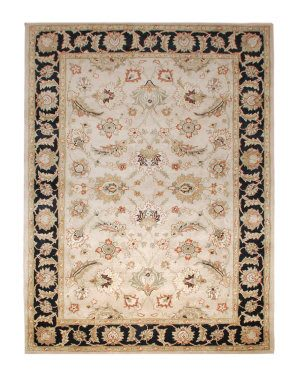 Rugstudio Sample Sale 53461R Safari - Jet Black Area Rug