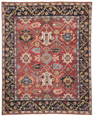 Jaipur Living Salinas Aika Sln02 Red - Multicolor Area Rug