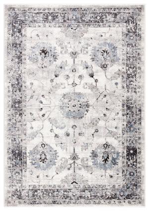 Jaipur Living Solstice Nashira Sol02 White - Gray Area Rug
