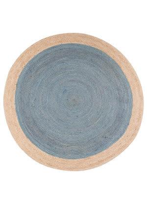 Jaipur Living Spiral Chipowa Spi03 Smoke Blue Area Rug