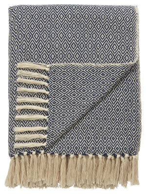 Jaipur Living Spirit Throw Spirit03 Spr05 Peacoat - Winter White Area Rug