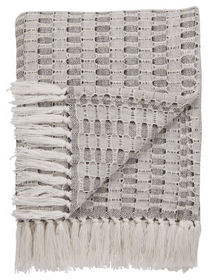 Jaipur Living Spirit Throw Spirit08 Spr10 Marshmallow - Bungee Cord Area Rug