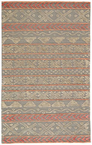 Jaipur Living Stitched Etched Sti03 Sedona Sage - Cement Area Rug