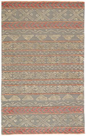Jaipur Living Stitched Etched Sti03 Sedona Sage - Cement Area Rug