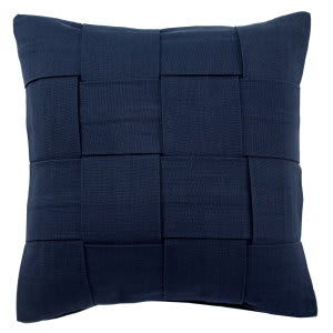 Jaipur Living Tabby Pillow Tabbysolid01 Tab01 Twilight Blue