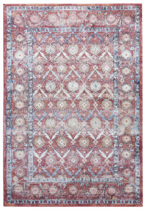 Jaipur Living Tabriz Jewel Tbz02 Earth Red - Incense Area Rug