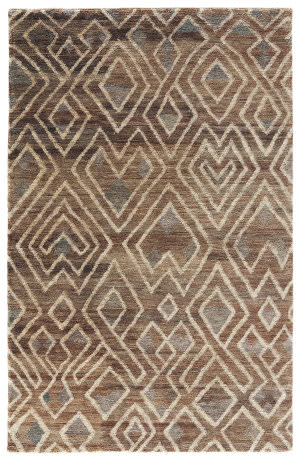 Jaipur Living Traditions Made Modern Select Raffia Cloth Tms04 Bone Brown - Breen Area Rug
