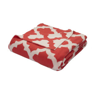 Jaipur Living Trinity Throw Tri-01 Tri11 Grenadine