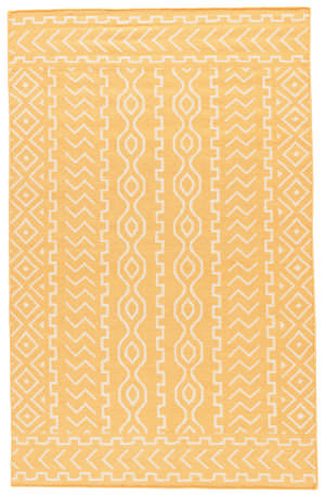 Jaipur Living Urban Bungalow UB19 Old Gold - Light Gray Area Rug