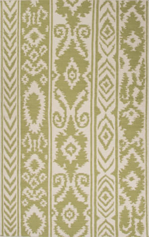 Jaipur Living Urban Bungalow Farid Ub24 Dark Citron - Cloud Dancer Area Rug