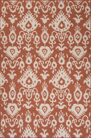 Jaipur Living Urban Bungalow Samir Ub25 Orange Rust Area Rug