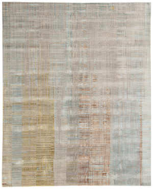 Jaipur Living Unstring By Kavi Asthai Ubv01 Light Gray - Multicolor Area Rug