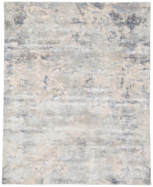 Jaipur Living Unstring By Kavi Khamaj Ubv04 Light Gray - Blue Area Rug