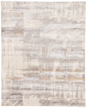 Jaipur Living Unstring By Kavi Storia Ubv05 Light Gray - Tan Area Rug
