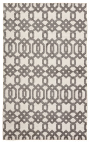 Jaipur Living Unika By Nikki Chu Nolita Una03 White - Light Gray Area Rug