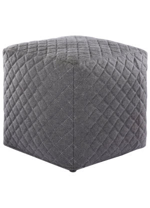 Jaipur Living Ultra By Nikki Chu Pouf Nki21 Unk02 Neutral Gray Area Rug