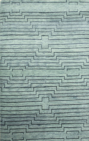 Jaipur Living One Of A Kind Usl-154 Light Turquoise - Indigo Blue Area Rug