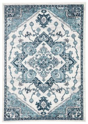 Jaipur Living Valen Lebanon Val07 Turquoise - White Area Rug