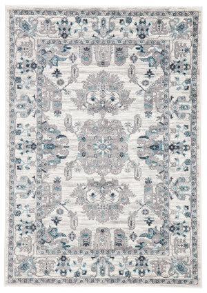 Jaipur Living Valen Lyme Val11 White - Light Gray Area Rug