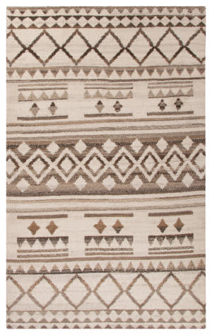 Jaipur Living Vanden Healey Van02 Turtledove - Taupe Gray Area Rug