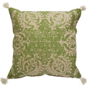 Jaipur Living Verdigris Pillow Verdi Ved05 Green - Beige