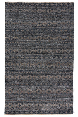 Jaipur Living Verna Desta Ven08 Pewter - Dark Gull Gray Area Rug