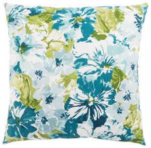Jaipur Living Veranda Pillow Summer Garden Ver129 Teal - Green