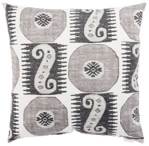 Jaipur Living Veranda Pillow Odl Souk Treasure Ver132 Gray - White