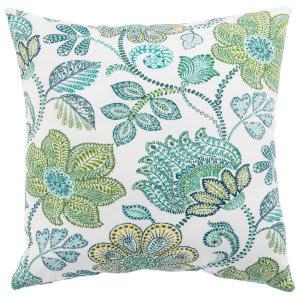 Jaipur Living Veranda Pillow Busan Ver136 Turquoise - Green
