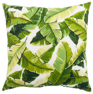 Jaipur Living Veranda Pillow Balmoral Ver138 White - Green