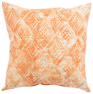Jaipur Living Veranda Pillow Darrow Fresco Ver141 White - Orange