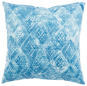 Jaipur Living Veranda Pillow Darrow Fresco Ver142 White - Blue