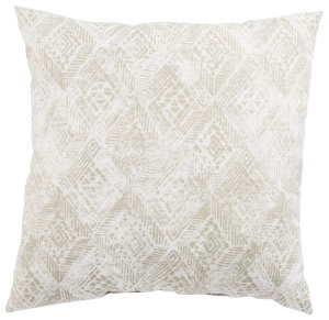 Jaipur Living Veranda Pillow Darrow Fresco Ver143 White - Gray