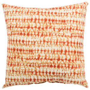 Jaipur Living Veranda Pillow Perron Fresco Ver146 Orange - White