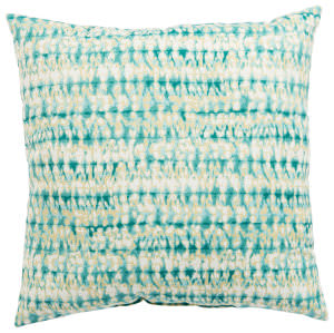 Jaipur Living Veranda Pillow Perron Fresco Ver147 Aqua - White