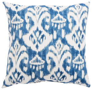 Jaipur Living Veranda Pillow Rivoli Fresco Ver150 Blue - White