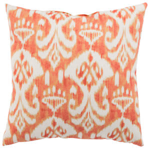 Jaipur Living Veranda Pillow Rivoli Fresco Ver151 Orange - White