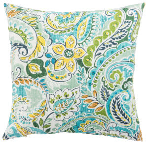 Jaipur Living Veranda Pillow Pezzola Franco Ver152 Blue - Green